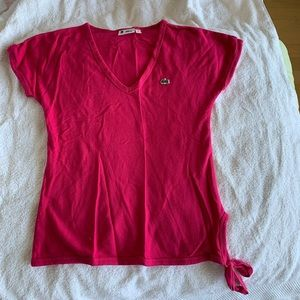 Lacoste Sport Hot Pink Top in Size FR 38/US 2